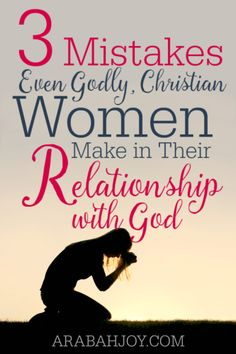 Dear Christian woman, beware of these common, deadly mistakes that will hinder you in your relationship with God. Click over to see if you are falling into the same trap others have!