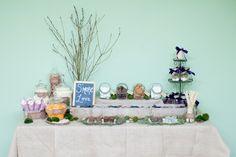 I will be having a smore bar!  campfire wedding dessert table diy smores tutorial DIY Smores Bar