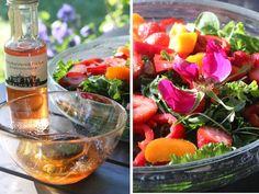 Prinsessojen kotitalous: Loma-aamun ruususalaatti