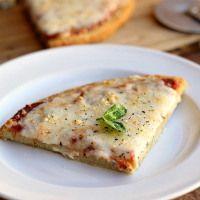 5-Ingredient Quinoa Pizza Crust (Vegan, Primal, Gluten-Free)