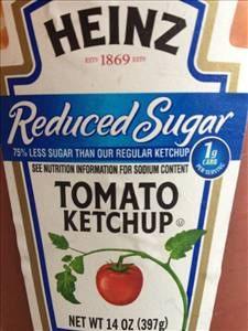 for all those ketchup lovers out there like ME... just to let you know this reduced sugar tastes no different than the regular ketchup I SWEAR :)