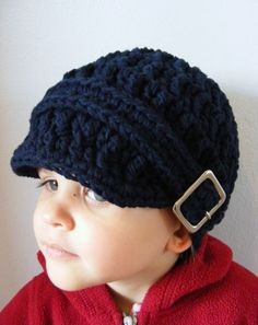e63fc9fde42 Toddler Hat Toddler Boy Hat Toddler Girl Hat Square Buckle Beanie Cotton Hat  Navy Blue Toddler Hat Trendy Toddler Clothing Baby Boy Hat. Crochet Hats For  ...