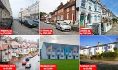 House prices in Brighton have soared by 500% in two decades