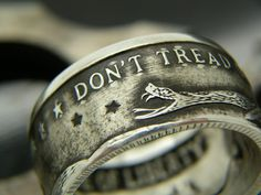 5078ff0d9d68 Bungalow-D Coin Rings. SilverEngagement ...