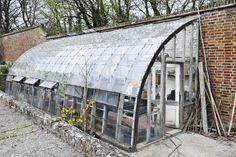 Country Manor House film locations Sussex. Greenhouse
