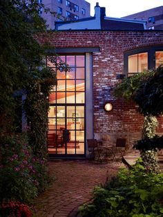 Wyant Architecture - love the large windows - brick