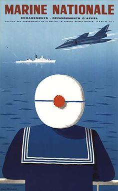 ArtistJean Desaleux   TitleMarine Nationale  Date Of Workc. 1960
