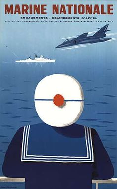 Artist Jean Desaleux Title Marine Nationale Date Of Work c. 1960