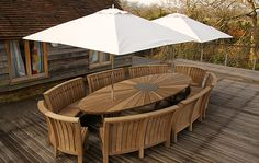 Broadewalk dining table and benches by Gaze Burvill, love the curves