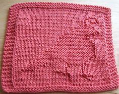 DigKnitty Designs: Partridge Knit Dishcloth Pattern