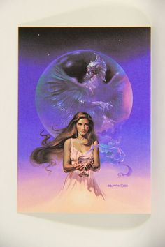 L010275 Boris Vallejo 1991 Card / Crystal Griffin - 1985 - Card #78 / ARTWORK