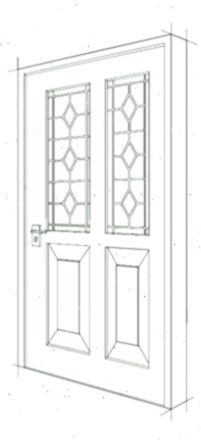 Drawing Design For A Single Wooden Front Door Design Door Drawing Front Single Wooden Wo Wooden Front Door Design Wooden Front Doors Front Door Design