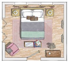 Our illustrated guide for a bedroom that perfectly suits your needs
