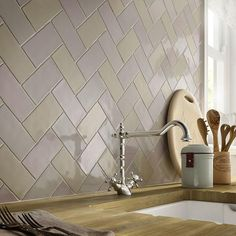 Kitchen Wall tiles from Laura Ashley French Artisan