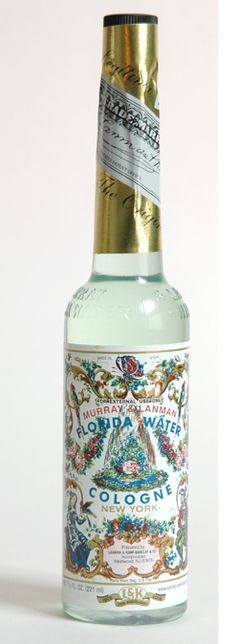Florida Water - smells gorgeous, great for the summertime!
