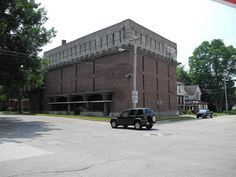 A.D. German Warehouse, Frank Lloyd Wright, Richland Center WI