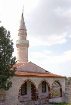 The mosque in the village of Avdemou, Limassol