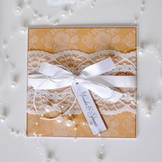 Marry handmade wedding invitation