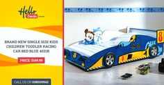 The hardest part of being a parent is to put your kids to bed, isn't it? To simplify your this problem, Hello Deals has got a solution for you. Get fancy racing car #bed specially designed for #kids! We serve high-quality, well-designed #Kids #bed at an affordable prices. Visit http://www.hellodeals.com.au/kids-car-beds/ & bring this bed home today!