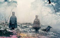 An ethereal and disturbing image by Denise Grunstein