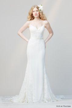Bridal Trends 2014 : Wedding Dress Silhouettes — The Godet Skirt | Wedding Inspirasi