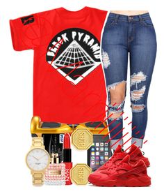 """"""""""" by trill-forlife ❤ liked on Polyvore featuring LifeProof, Kate Spade, Moschino and NIKE"""