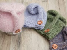 DIY tutorial: Knit A Baby Beanie Hat via DaWanda.com