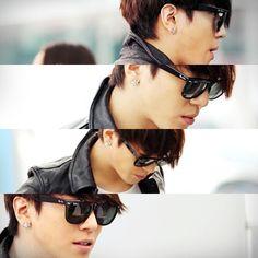 to ] Great to own a Ray-Ban sunglasses as summer gift.Fashion and Vintage styles. Kang Min Hyuk, Lee Jong Hyun, Jung Hyun, Lee Jung, Jung Yong Hwa, Hot Korean Guys, Korean Men, Asian Men, Korean Actors