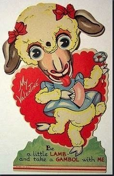 These are just so god damn freaky :D And WTF is this lamb thingie? 27 Weird And Creepy Vintage Valentine's Day Cards Valentines Day Greetings, Valentine Day Cards, Valentine Ideas, Holiday Cards, Christmas Cards, Valentine's Day Greeting Cards, Vintage Greeting Cards, Funny Postcards, Vintage Postcards