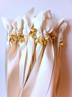 Send Off Wedding Wand Streamers {Any Color}