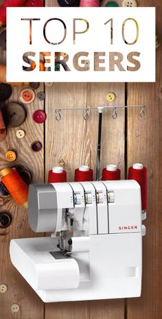 The Internet has chosen the 10 best Serges. Various types of thread sergers… Sewing Basics, Sewing For Beginners, Sewing Hacks, Sewing Tutorials, Sewing Crafts, Sewing Patterns, Sewing Ideas, Serger Sewing, Sewing Tools