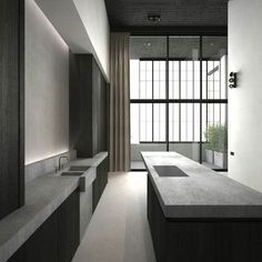 Solid #designs with a modern touch of #luxury in the #kitchen
