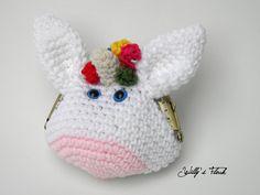 Monedero boquilla unicornio - Unicorn nozzle purse de WillysFlock en Etsy
