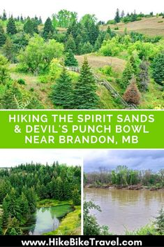 Hiking the Spirit Sands & Devil's Punchbowl near Brandon, Manitoba Brandon Manitoba, Visit Canada, Canada Eh, Canadian Travel, Banff National Park, Day Hike, Hiking Trails, Day Trips, Adventure Travel
