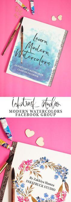 Learn watercolors -