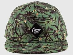Tropical Leaf 5 Panel Cap by CAMP