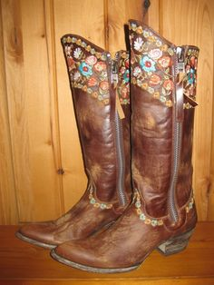 Rivertrail Mercantile - Old Gringo Gayla Razz Brass Boots, $399.99 (http://www.rivertrailmercantile.com/old-gringo-gayla-razz-brass-boots/)