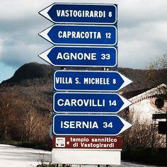 Molise - Vastogirardi - my mother's side. Nonno's - it's a quaint little town.