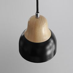 Pendant lamp metal and solid ash wood Pendant Lamp, Ash, Ceiling Lights, Lighting, Metal, Wood, Home Decor, Gray, Decoration Home