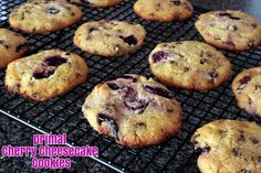 primal cherry cheesecake cookies - Varya