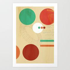 Orbital Secret Art Print by Andre Villanueva - $15.00