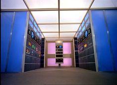 Base Alpha, Salle des ordinateurs, Space 1999, Keith Wilson, 1973-1975
