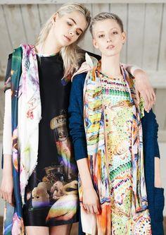 Fashion and lifestyle PR agency Kitch & Honey PR represents online fashion retailer Young British Designers Slow Fashion, Fashion News, Fashion Online, Fashion Beauty, Scarf Styles, Cotton Dresses, Silk Dress, Kimono Top, Women Wear