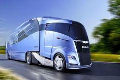 MAN Aerodynamic Concept Truck