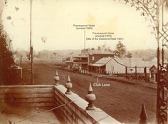 Molesworth Street, Lismore 1883 Freemason, Historical Pictures, Live In The Now, Byron Bay, Rivers, Old Photos, Past, March, Exterior