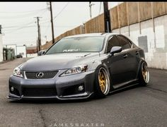 lexus isf stance