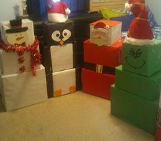 Christmas Gift Wrapping, Christmas Gifts For Kids, Family Christmas, Holiday Fun, Christmas Crafts, Snowman Crafts, Christmas Morning, Crafts For Christmas Decorations, Homemade Christmas