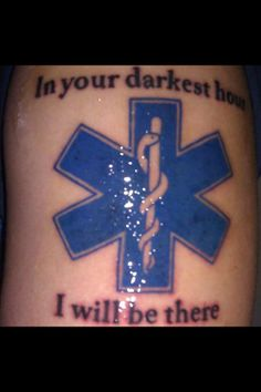 In Your Darkest Hour I Will Be There EMS Tattoo  Ink Yourself