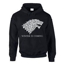 Hoodie Game of Thrones Winter is coming Kapuzenpullover Schattenwolf XS-5XL