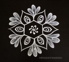 Easy And Simple Rangoli Designs Simple Flower Rangoli, Simple Rangoli Kolam, Simple Rangoli Border Designs, Rangoli Designs Latest, Rangoli Designs Flower, Free Hand Rangoli Design, Small Rangoli Design, Rangoli Patterns, Rangoli Designs Diwali